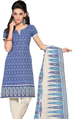 Ashika Jacquard Floral Print Salwar Suit Dupatta Material