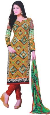 Vamakshi Chiffon, Viscose Printed Salwar Suit Dupatta Material