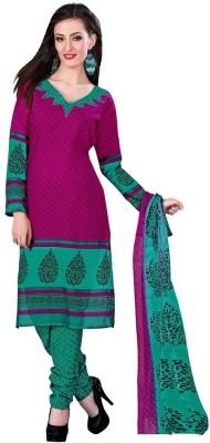 Reveka Fashion Cotton Printed Salwar Suit Dupatta Material