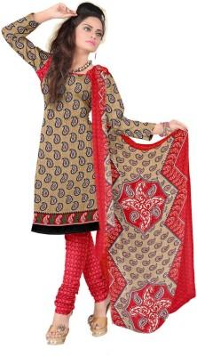 DnVeens Crepe, Synthetic, Chiffon Printed, Self Design Salwar Suit Dupatta Material