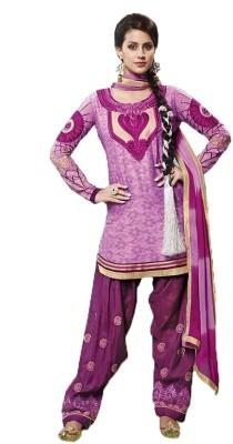 YourDesignerWear Cotton Self Design Salwar Suit Dupatta Material
