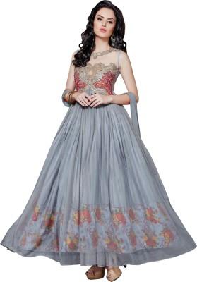 Vistara Lifestyle Net Embroidered Salwar Suit Dupatta Material