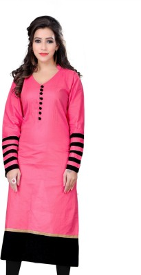 Kavya Shopping Cotton Self Design Kurti Fabric