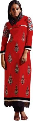 Varanga Cotton Embroidered Semi-stitched Salwar Suit Dupatta Material