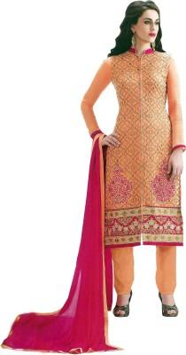 Tazeen Womens World Cotton Silk Blend Embroidered Salwar Suit Dupatta Material