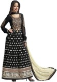 Hi-Fashion Georgette Self Design Semi-st...