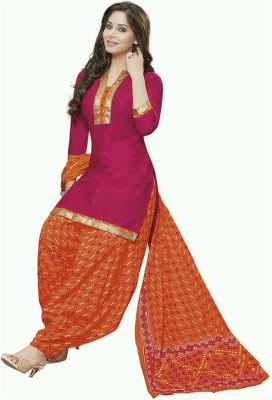 Fashion Valley Cotton Printed Salwar Suit Dupatta Material