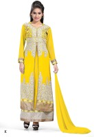 Glory Women's Clothing - Glory Empire Georgette Embroidered Salwar Suit Dupatta Material(Un-stitched)