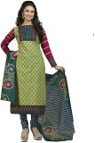 Indian Wear Online Cotton Printed Semi-s...
