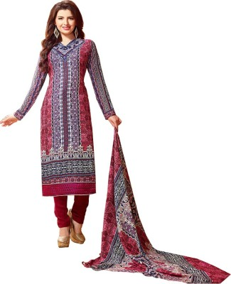 Creative Collection Wool Printed Salwar Suit Dupatta Material