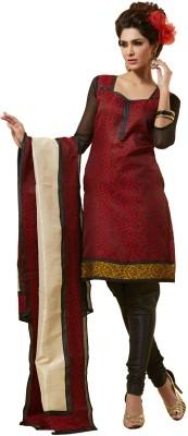 Fabdeal Jacquard Self Design Salwar Suit Dupatta Material