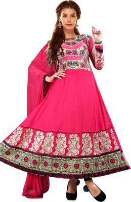 Sai Fashion Georgette Embroidered Salwar Suit Dupatta Material