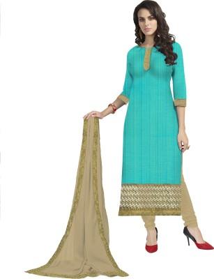 Frenzy Fashion Chiffon Embroidered Salwar Suit Dupatta Material