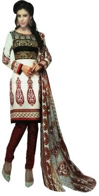 Mubashshir Cotton Printed Salwar Suit Dupatta Material