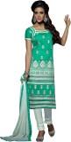 Shonaya Chanderi Embroidered Salwar Suit...