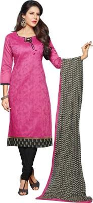 Parisha Chanderi Printed Salwar Suit Dupatta Material