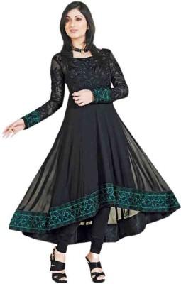 Uttam Vastra Georgette Embroidered Salwar Suit Dupatta Material