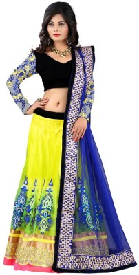 Heer Ganga Embellished Women's Lehenga, Choli and Dupatta Set
