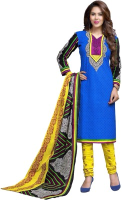 Mathura Cotton Printed Salwar Suit Dupatta Material