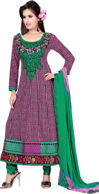 Shristi Creation Cotton Printed Salwar Suit Dupatta Material