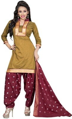 SHS Cotton Polyester Blend Solid Salwar Suit Dupatta Material