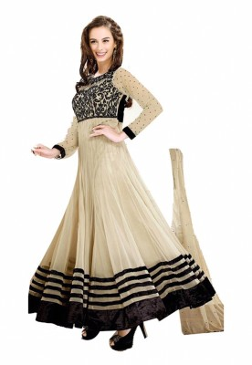 Parabdhani Fashion Georgette Embroidered Salwar Suit Dupatta Material
