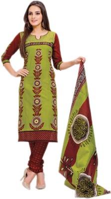 Vogue Era Cotton Printed Salwar Suit Dupatta Material