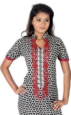 B3 Fashion Cotton Printed Semi-stitched Salwar Suit Dupatta Material