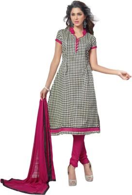 Prachi Silk Mills Cotton Silk Blend Printed Salwar Suit Dupatta Material