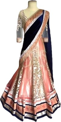 Styles Clothing Net Embroidered Lehenga Choli Material