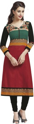 SuitsOn Cotton Printed Kurti Fabric