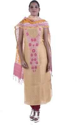 Surbhi Chanderi Floral Print Salwar Suit Dupatta Material