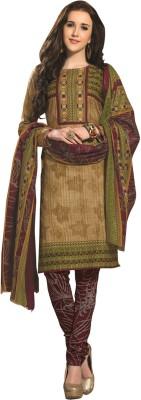 Tripssy Cotton Printed Salwar Suit Dupatta Material