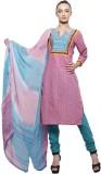 PinkShink Cotton Printed Salwar Suit Dup...