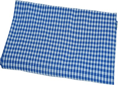 SSS SOURCING Cotton Checkered Shirt Fabric