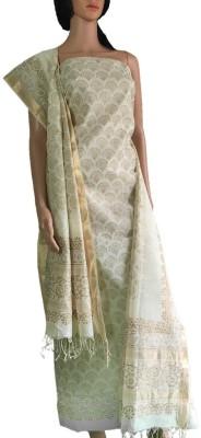 colorsofcraft Cotton Self Design Dress/Top Material