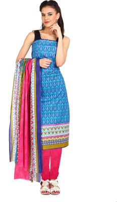 Parchayee Cotton Printed Salwar Suit Dupatta Material