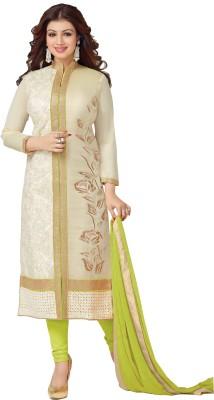 Sitaram Cotton Embroidered, Self Design Salwar Suit Dupatta & Waistcoat Material