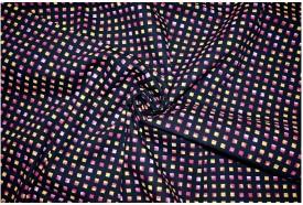 V WALKER'S Cotton Geometric Print Shirt Fabric(Un-stitched)