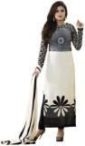 Neets Fashion Georgette Embroidered Semi...
