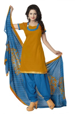 Parisha Cotton Printed Salwar Suit Dupatta Material