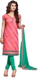 West Turn Chanderi Embroidered Salwar Su...