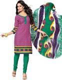 Dfolks Cotton Printed Salwar Suit Dupatt...