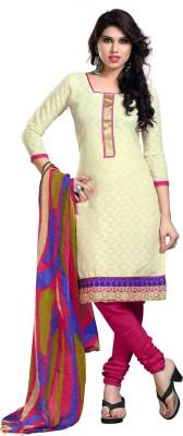 Lizafab Cotton Embroidered Salwar Suit Dupatta Material