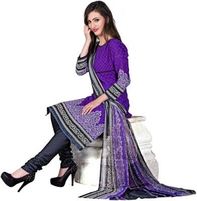 Li Te Ra Cotton Printed Salwar Suit Material