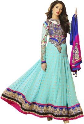Luxuria Net Self Design Salwar Suit Dupatta Material