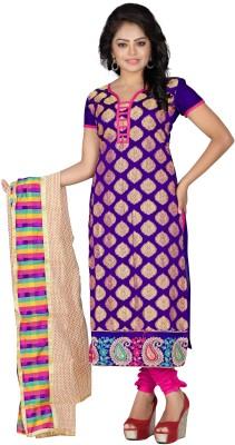 Shree Vardhman Jacquard Self Design Salwar Suit Dupatta Material