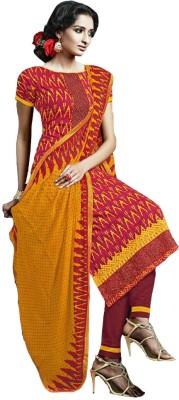 GoAavaran Cotton Embroidered Salwar Suit Dupatta Material