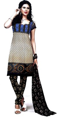Mehrana Cotton Printed Salwar Suit Dupatta Material