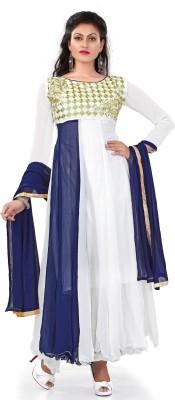 Fabfiza Georgette Printed Salwar Suit Dupatta Material